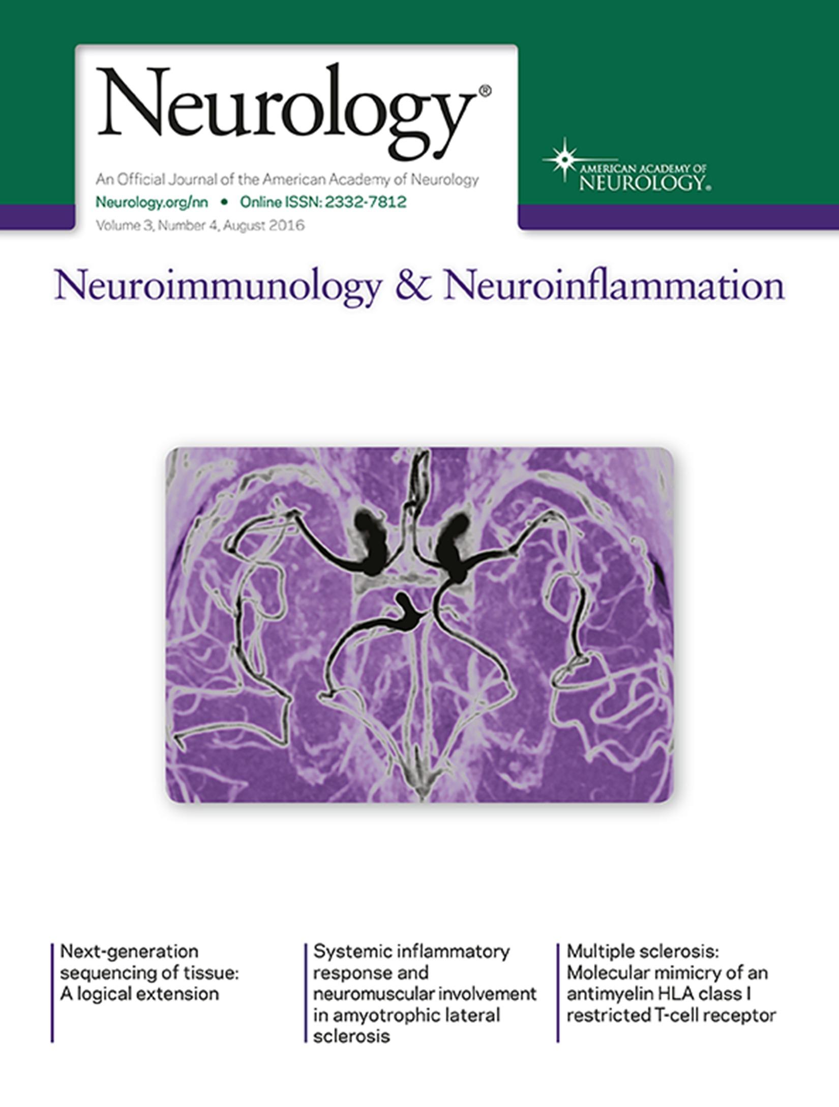 MRI phase changes in multiple sclerosis vs neuromyelitis