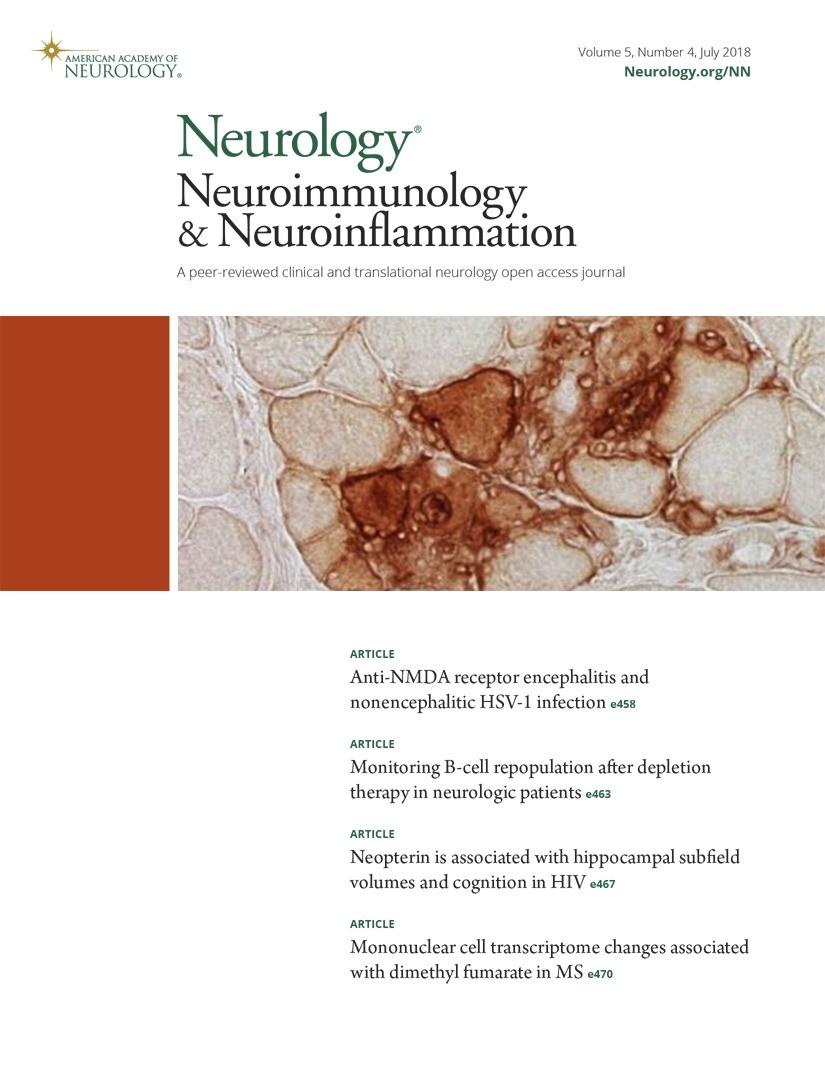 Infection-triggered autoimmunity | Neurology Neuroimmunology