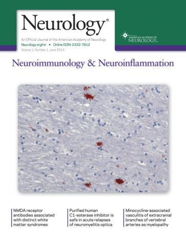 Neurology - Neuroimmunology Neuroinflammation: 1 (1)