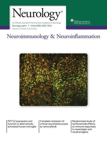 Neurology - Neuroimmunology Neuroinflammation: 2 (2)