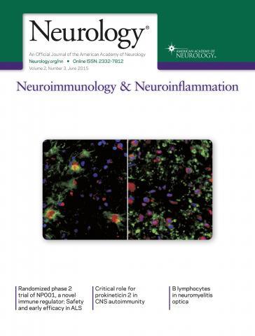 Neurology - Neuroimmunology Neuroinflammation: 2 (3)