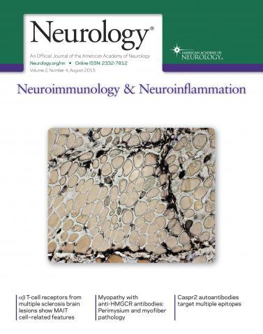 Neurology - Neuroimmunology Neuroinflammation: 2 (4)
