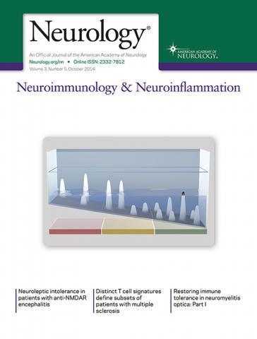 Neurology - Neuroimmunology Neuroinflammation: 3 (5)