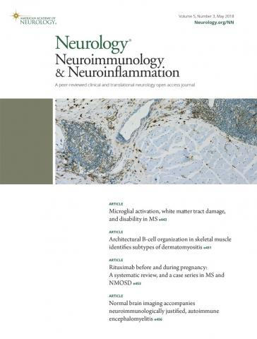 Neurology - Neuroimmunology Neuroinflammation: 5 (3)
