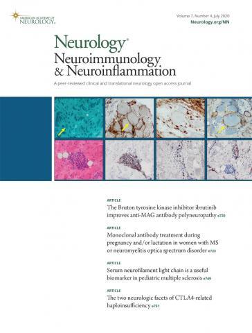 Neurology - Neuroimmunology Neuroinflammation: 7 (4)