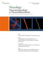 Neurology - Neuroimmunology Neuroinflammation: 8 (1)