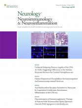 Neurology - Neuroimmunology Neuroinflammation: 8 (2)