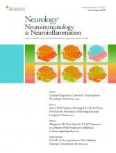 Neurology - Neuroimmunology Neuroinflammation: 8 (4)