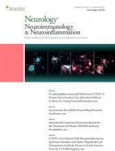 Neurology - Neuroimmunology Neuroinflammation: 8 (5)