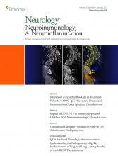Neurology - Neuroimmunology Neuroinflammation: 9 (1)